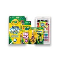 Crayola Back to School Bundle Set, Grades 6 Plus, and Craft Supplies,...  - $26.19