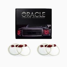 Oracle Lighting CH-SO1112-R - Chevrolet Sonic LED Halo Headlight Rings - Red - $183.87