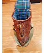 beau rivage wine basket with strap - $14.84