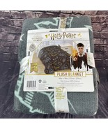 Harry Potter Plush Blanket Super Soft Owls, Glasses, Wands 60x90 Wizardi... - $39.59