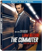 The Commuter [Blu-ray+DVD+Digital, 2018]