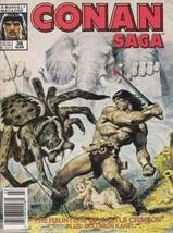 Conan Saga #36 (Newsstand) FN; Marvel | save on shipping - details inside - $1.00