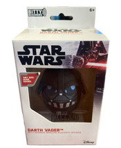 Star Wars Darth Vader Bitty Bommers Portable Wireless Bluetooth Speaker NOB - $13.85
