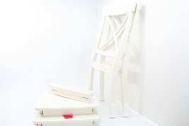 Home Styles 5178-802 Two Dining Chairs White Finish Solid Hardwood Set of 2 - €70,47 EUR