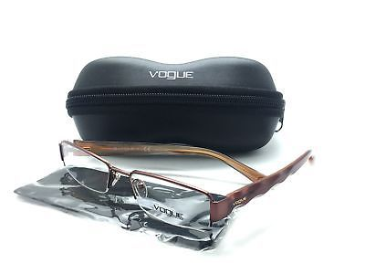 Vogue Semi Brown Rimless And Eyeglasses 50 Similar Items Metal On0Pkw