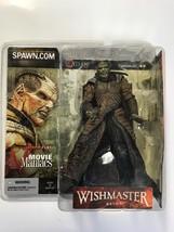 Mcfarlane Movie Maniacs Wishmaster Djinn Figure Autographed By Robert Kurtzman - $68.59
