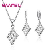 Trendy Drop Shipping Brand New Women S90 Cubic Zircon Wedding Necklaces ... - $9.00