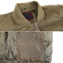 vkwear Men's Quilted Padded Insulated Heavyweight Puffer Bomber Jacket VAQ image 10