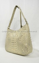 NWT Brahmin Noelle Leather Tote / Shoulder Bag in Silver Birch Melbourne - $229.00