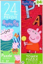 Peppa Pig - 24 Piece Tower Jigsaw Puzzle (Set of 2) - $15.83