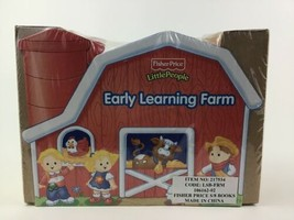 Fisher Price Farm Toddler Board Books 8 Mini Little People Early Learning Sealed - $27.67
