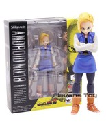 SHF S.H.Figuarts Dragon Ball Z Figure Android NO.18 PVC Collectible Model Toys - $99.99