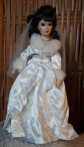 Winter Bride Porcelain Doll - Pre-owned - $16.83