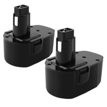 2 Pack 14.4V 3.5Ah Ni-Mh Replacement Battery Compatible With Dewalt Dc - $73.99