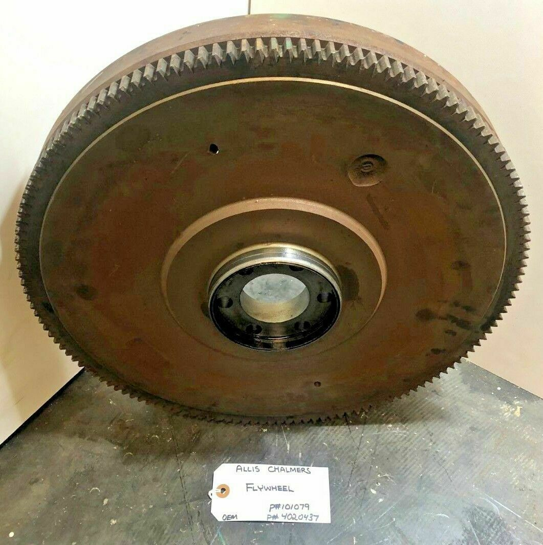 FLYWHEEL ALLIS CHALMERS 101079 / 4020437 OEM image 7