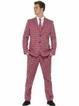 Union Jack Suit, Medium, Stand Out Suits Fancy Dress - $61.33