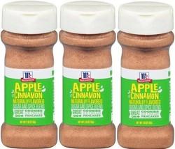 3 McCormick Apple Cinnamon Sugar and Spice Blend 2.18 Oz. - $16.82