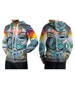 DMT anonymous Psychedelic Hallucinogen Hoodie Zipper For men - $49.99+