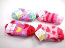 4 Pairs Gertex Baby Girl Ankle Socks Kids Soft Polyester Warm Footsocks 7-9 - $6.92