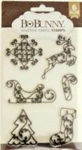 Bo Bunny Yuletide Carol Stamp Set - Cardmaking, Scrapbooking, Crafting!