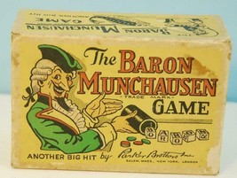 1933 The Baron Munchausen Game by Parker Brothers EX - $24.75