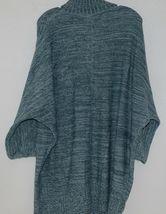 Simply Noelle Brand JCKT222Z Womens Misty Blue Zippered Sweater Jacket Size XXL image 5