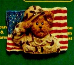 "Boyds BearWear Pin ""G I Bearsley"" - Resin Pin - #26181 -New- Retired - $11.99"