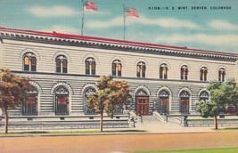 U. S. Mint Denver Colorado CO Postcard B03 - $2.69