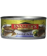 Evanger'S 776335 Hand-Packed Catch Of The Day Dinner For Cats, 24/5.5-Ounce - $72.54