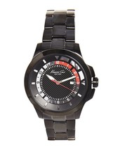 Kenneth Cole New York Black on Black Stainless Mens Watch 10022069 $155 -NWT NIB - $62.16