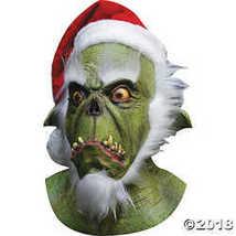 Green Santa Grinch Mask - £45.12 GBP