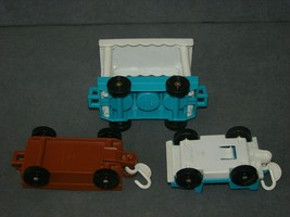 Fisher Price Little People: 916 Zoo Tram Truck + Feed + Passenger Car [C... - $15.00
