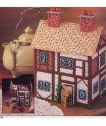 Cottage Keeper Potpourri Holder Annie's Plastic Canvas Pattern Leaflet NEW - $2.67