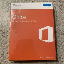 Microsoft Office Home & Student 2016 English Windows Product Key - Brand... - $41.57