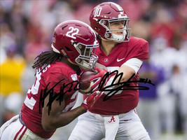 * Mac Jones & Najee Harris Signed Photo 8X10 Rp Autographed Alabama Football - $19.99