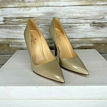 Kate Spade Womens Cream Patent Leather Pointed Toe Pump Heels Size 5 B - $45.53