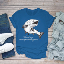 Swimming Funny Tee Troud_ The Salmon Swim Upriver To Spawns Unisex - $15.99+