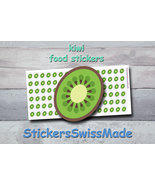 kiwi   planner stickers   food icon   for planner and bullet journal - $3.00+