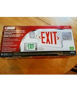 Utilitech - LED Emergency Light Exit Sign Red or Green #0253631 - $39.59