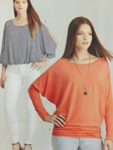 Simplicity Sewing Pattern 8089 Misses Ladies Knit Tops Size XXS-XXL Uncut - $16.11