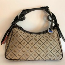 Dooney & Bourke Medium Hobo Bag ~ Tan & Brown Signature ~ NWT New Handbag - $111.95