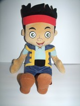 """Disney Jake and Neverland Pirates Plush Doll 27"""" Blue Outfit Black Hair ... - $26.29 CAD"""