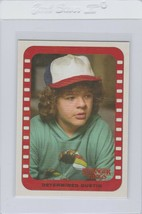 Stranger Things Determined Dustin chase sticker card 5 Topps Netflix 201... - $9.99