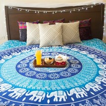 Boho Tapestry Hippie Dorm Throw Decor Gypsy Wall Hanging Queen Bed Cover - $19.39
