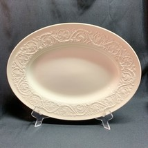 Wedgwood Patrician Serving Platter Black Backstamp 14 Inches x 11 Inches - $37.12