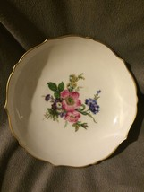 Kaiser  W. Germany China Bowl Dish 6 Inches Gol... - $10.36
