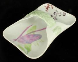 Antique Victorian Haviland Limoges Artist Sgnd Braided Floral Serving Dish Plate - $134.99