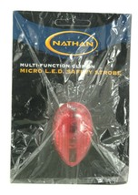 NATHAN 5058N MULTI-FUNCTION CLIP ON MICRO LED SAFETY STROBE LIGHT - £5.65 GBP