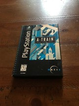 A-Train (Sony PlayStation, 1996) Long Box - $14.01