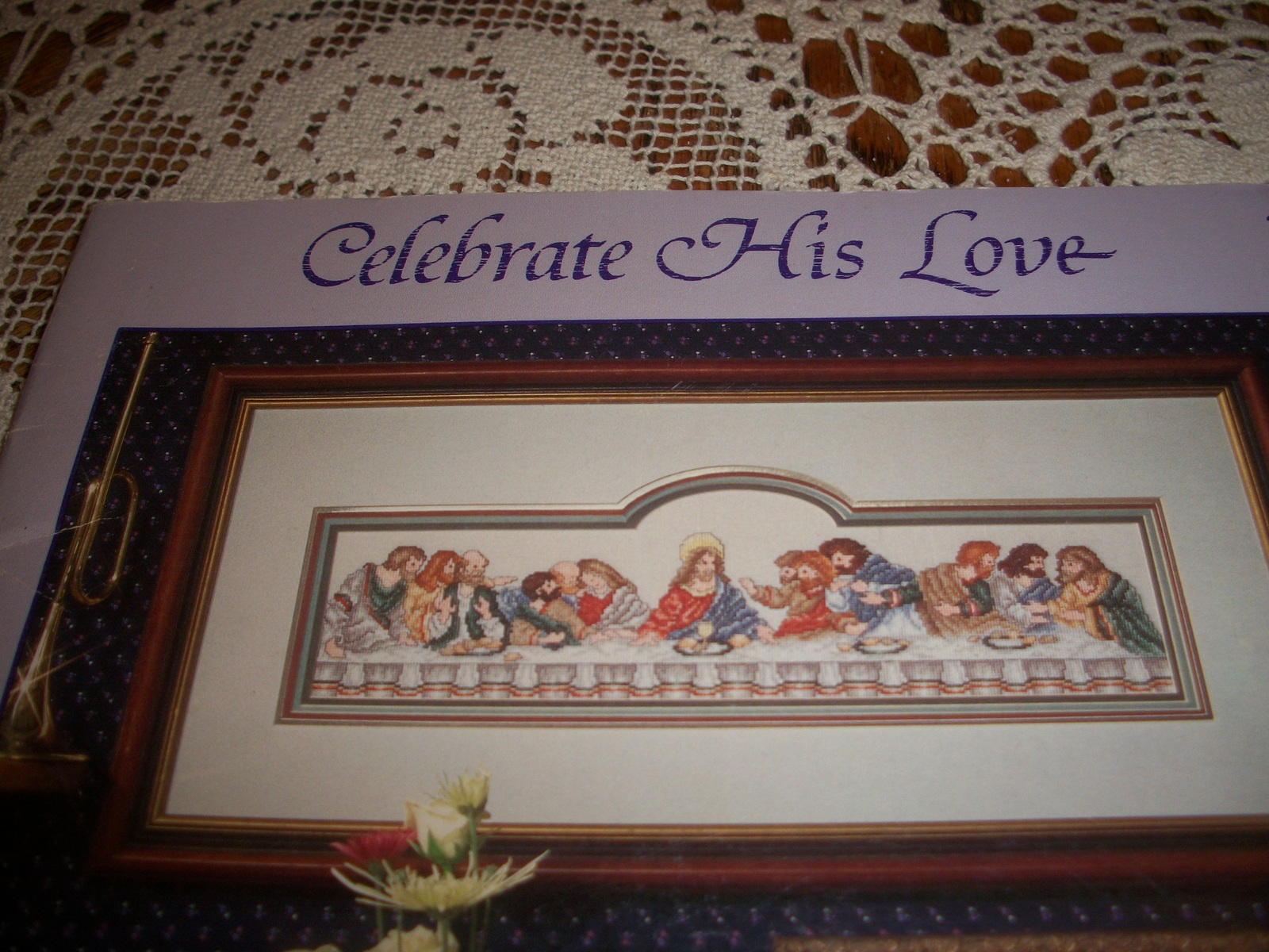 Primary image for Celebrate His Love Book 30 Counted Cross Stitch Designs